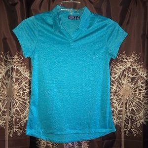 IZOD Kids Polo Shirt Top Uniform Size XL 18 EUC